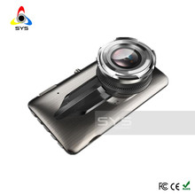 "Car Camera front and rear 4.0"" inch DVR Dual Lens Video Recorder WDR Dash Cam Night Vision G-Sensor Registrator Auto Wide Angle"