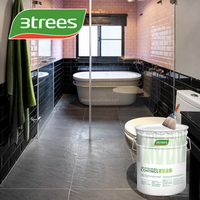 3TREES Low-voc waterproof wall coating material (free sample)