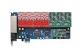 16 Ports with 8FXO and 8FXS Asterisk analog card for Voip IP PBX Digium AEX1600E Openvox asterisk pci voice card with 8 modules