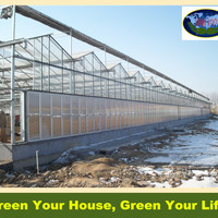 Multi Span Agricultural Double Layer Hollow