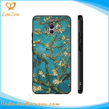 Printable phone cover printing stylish plum blossom design beautiful tpu smart raw material case phone cover