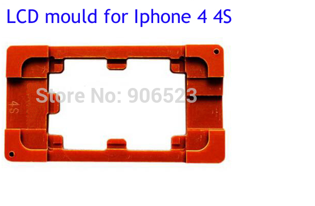 New Precision Touch Screen Refurbishment Mould for iPhone 4, Glass Panel fix LCD Molds for Iphone 4S