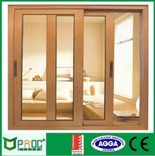 High quality thermal break alunuim frame double tempered glass sliding window