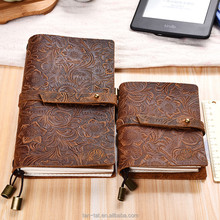 Vintage Leather Journal Notebook Diary Book Cover