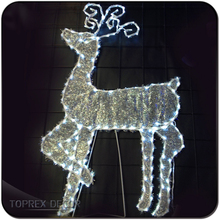 Outdoor lighted christmas decoration xmas reindeer lights