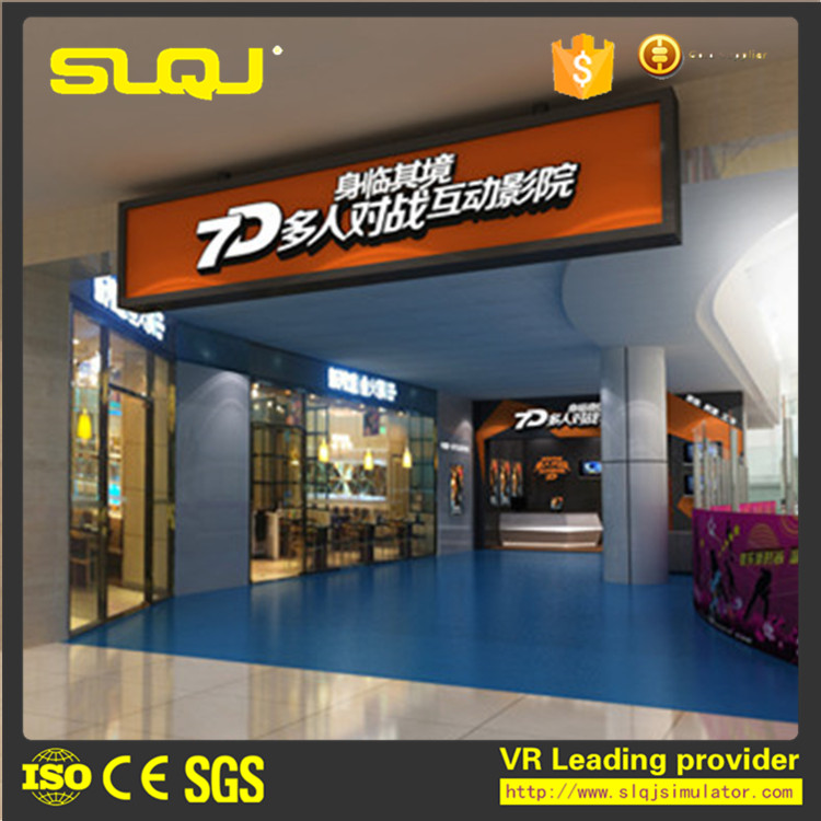 hot sale amusement CE multiplayer vr simulation 7d interactive 5d cinema
