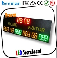 exchange rate display xxx photos led display with high definition p8 portable electronic basketball scoreboard