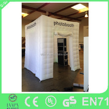 outdoor advertising inflatable booth/Inflatable shelter/cube tent for trade show