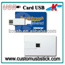 Credit card Usb Memory with Free Logo