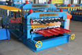 Double layer galvanized steel sheet metal roofing machine roof sheet roll forming machine