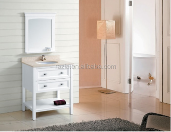 Hot sale Modern bathroom vanity Espresso bathroom cabinets Single basin Solid wood