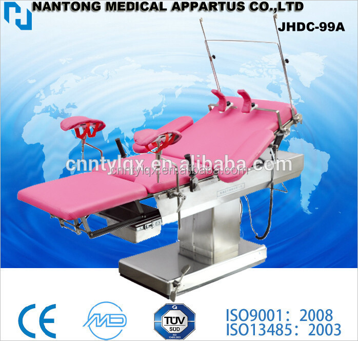 Leg Support in Operating Table and Electric Delivery bed gynecological examination bed table operating table bed