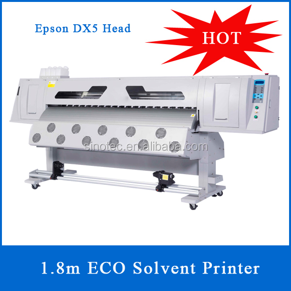 Hot Sale 1.8m DX7 ECO Solvent Printer With Good Price