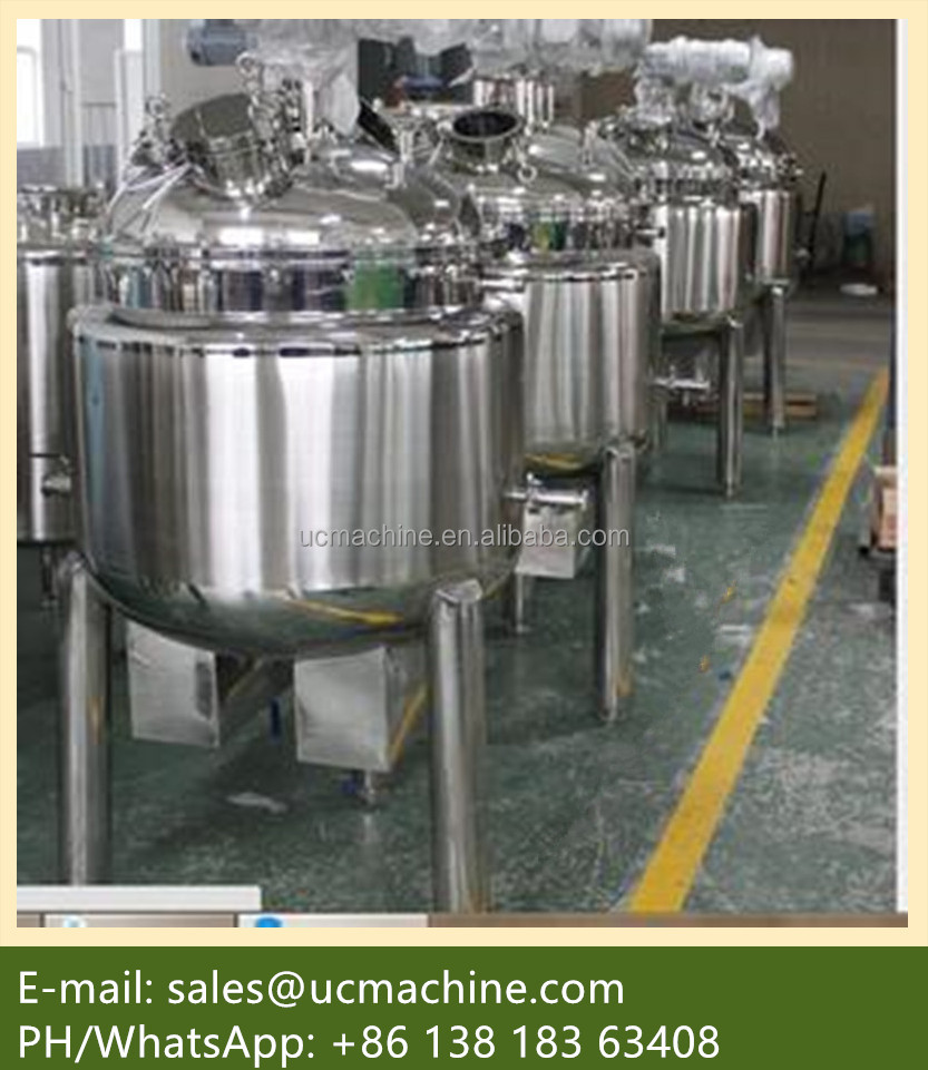 stainless steel iso tank steam jacketed tank