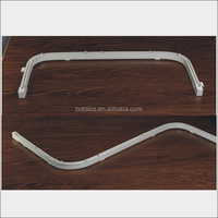 bathroom pvc curtain box,aluminum tracking rails accessories,bathroom window curtains