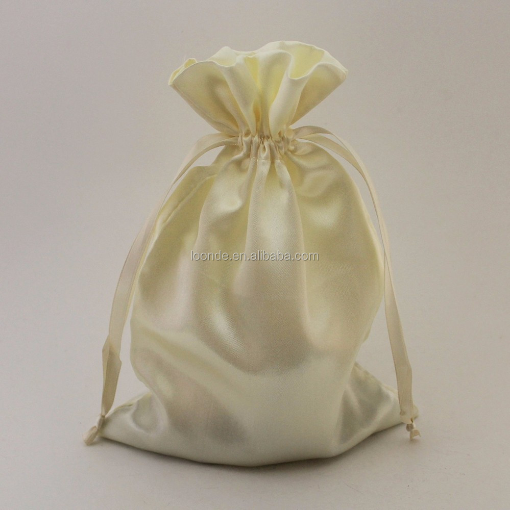 6x9 satin silk pouches bags for gifts and favors