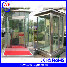 Solid steel fabrication and construction Prefabricated temporary sentry boxes house design