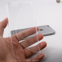 Ultra thin transparent clear hard PC 0.6mm Slim protective Case cover For IPHONE 6 / 6s
