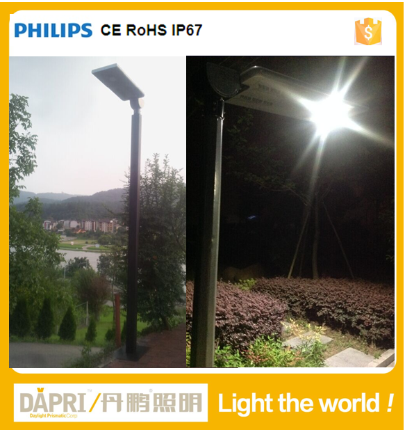2015 new style Sumsung ce rohs solar street lamp led