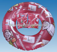 pvc inflatable swimming ring CMYK printing , arm ring sets