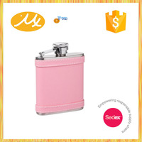 Fashion new products sex russia girls hip flask gift set mini hip flask