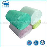 Non-Woven Material Pocket Air Filter Roll Media
