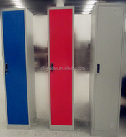 Office furniture one door door metal locker /clothes cabinet / steel locker in Pakistan market