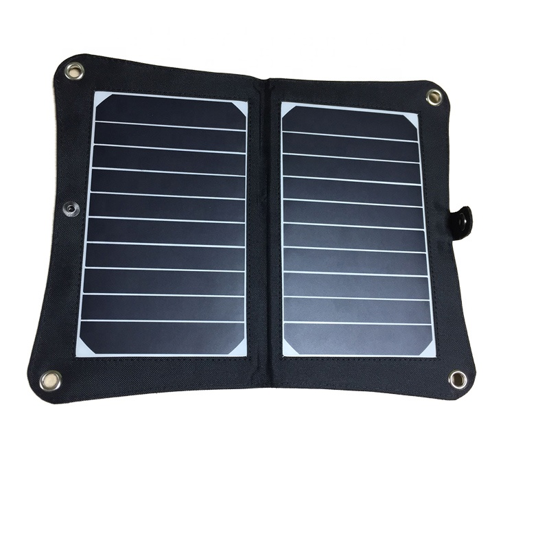<strong>China</strong> Supplier Flexible Waterproof USB 5V 2A 10W photovoltaic solar panel for Mobile phone Tablet Ninetendo Switch