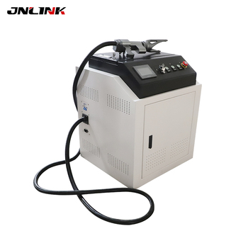 Excellent with high cleanliness small size 10-80mm scan width laser rust removal cleaning machine