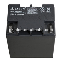12v rechargeable battery price 12v24ah UPS battery