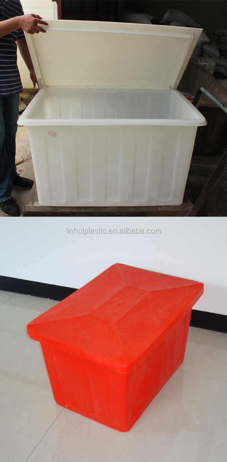 Litres plastic large water feed trough for horse pig