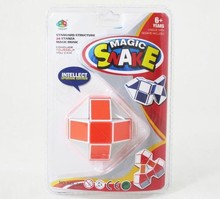 Intelligent Toys Magic Cube Snake Puzzle for kids