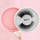 Wholesale premium soft super thin band siberian mink strip mink eyelashes