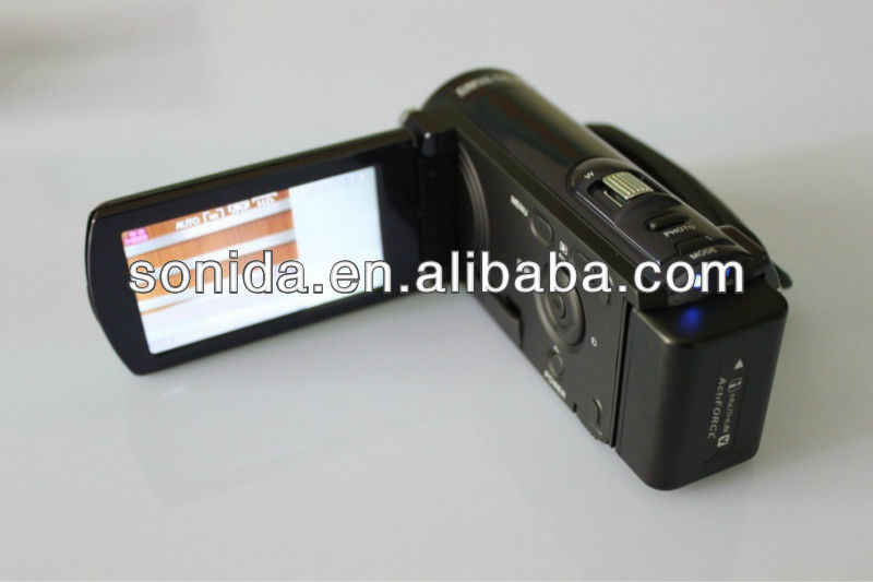 Latest touch panel digital video camera/digital camcorder with SD card (HDV-601P)