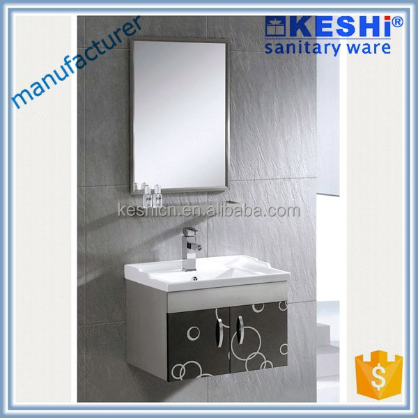 small size wall mounted wood side cabinet wall hung ss cabinet vanity stainless steel bathroom cabinet units
