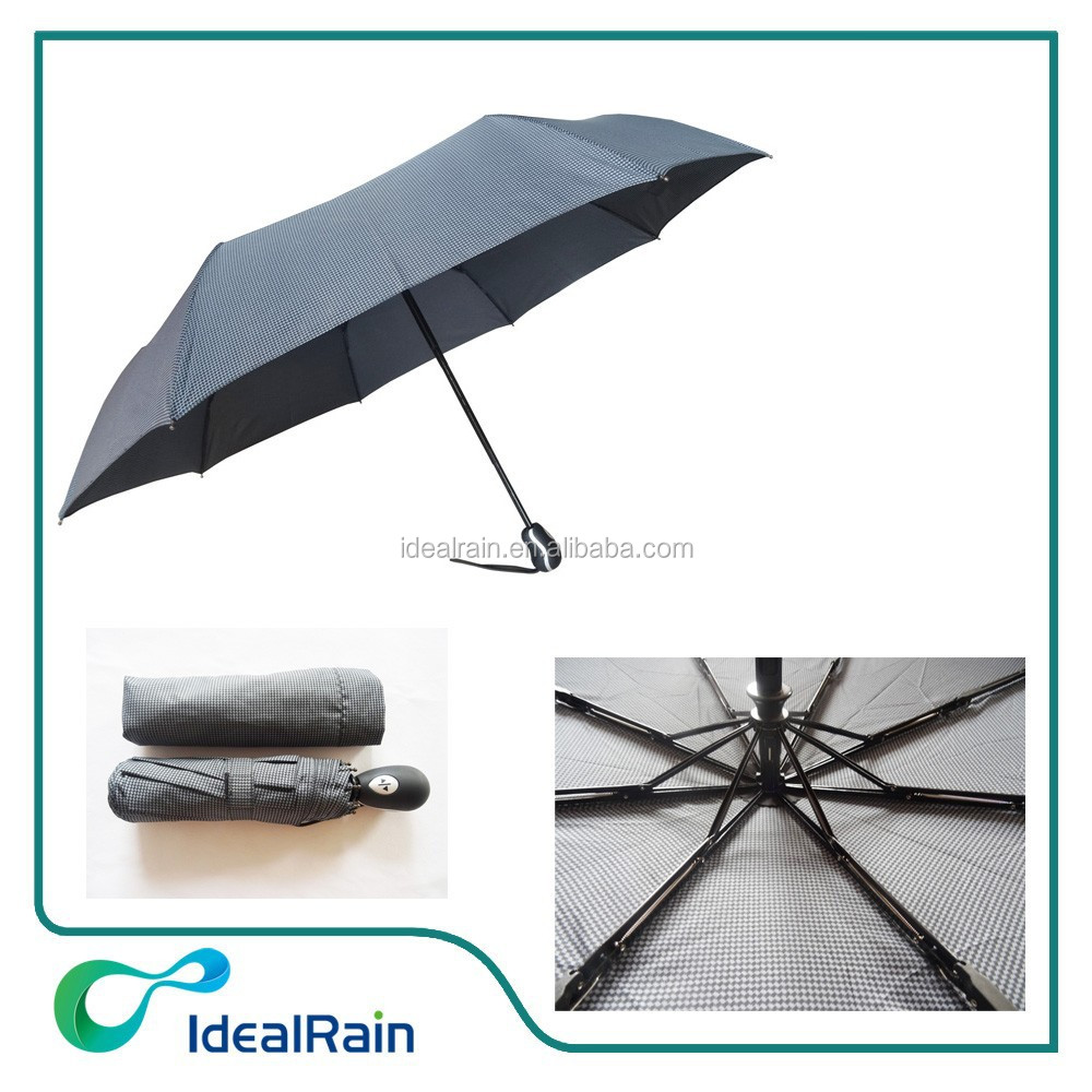 black color wind resistant auto open and close old umbrella