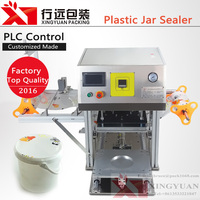 Plastic Bottle/Jar/Bucket Top Film/Foil Sealing Automatic Sealer Machine