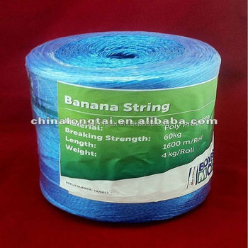 1 ply twisted PP rope for packing