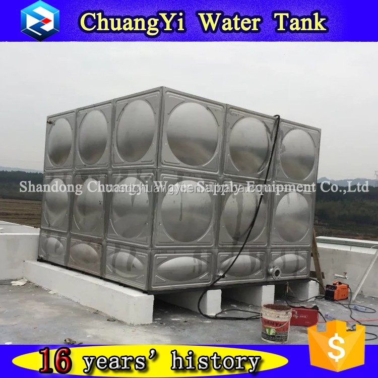 Pressed Steel Panel Water Tank With Different Kinds of Specifications for Irrigation Water Using/Farming Water Using