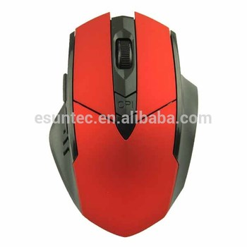 New Private 2.4G 6 button Wireless Optical Gaming Mouse , GM-015