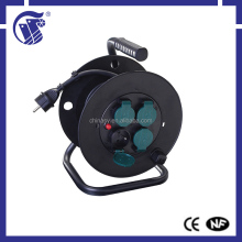 factory price european type socket cable reel with plug for industrial