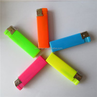 Cheap Price Cigarette Electronic Disposable Lighters Plastic