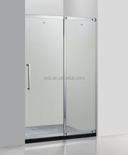 ready made slide 6mm Tempered Glass furniture shower room