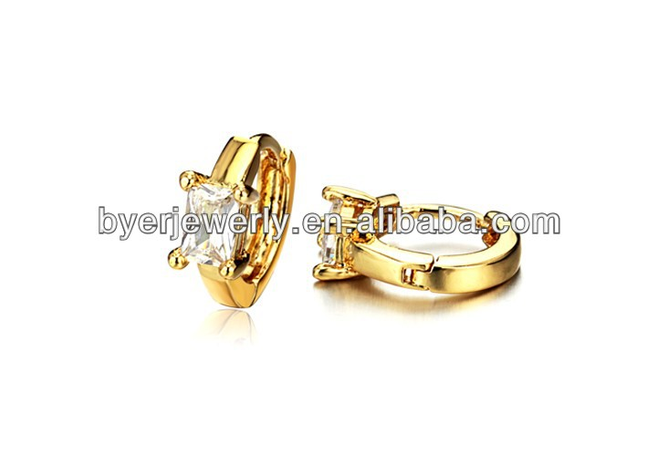 wholesale earrings fashion 2013 3 gram gold beautiful designed earrings