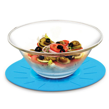 Microwave Oven Freezer Safe Silicone Airtight Bowl Pot Lid Cover Keeping Food Fresh