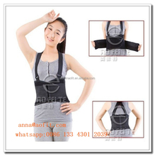 Adjustable waist belt Slimming Trainer Back Support double pull for back pain