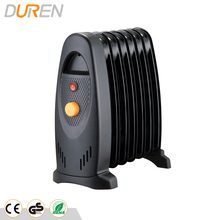 Portable oil filled radiator heater with mini design