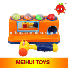 Infant musical cartoon beats toy ball mini platform baby toy