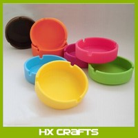 High quality silicone custom ashtrays/cigar ashtray for sale
