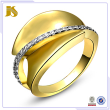 2015 Beautiful Fashion Anniversary o gold ring